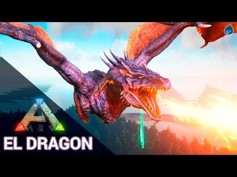 ARK Survival Evolved | EL DRAGÓN!!