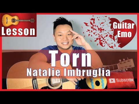 How to Play Torn by Natalie Imbruglia on Guitar