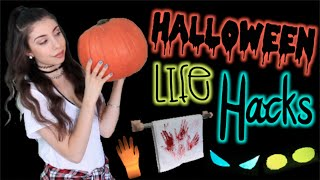 8 Life Hacks for Halloween: Cheap & Easy DIY Decorations! Thumbnail