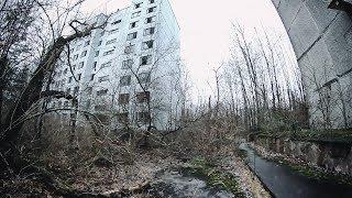 Припять. Весна 2019. Квартиры припятчан спустя 33 года после эвакуации жителей.