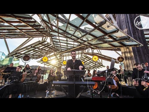 Worakls Orchestra live at Château La Coste in France for Cercle