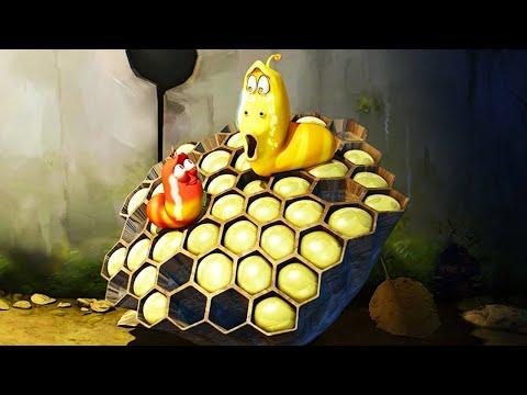 ЛАРВА | Мед пчелы | Мультфильмы для детей | WildBrain