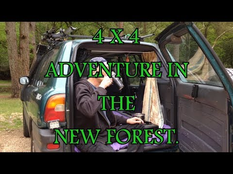 4X4 ADVENTURE.  THE NEW FOREST. Hampshire.