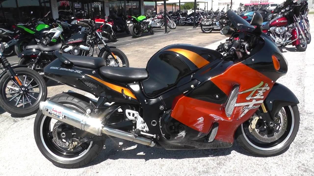 107534 2004 suzuki hayabusa gsx1300r used motorcycles for sale youtube. Black Bedroom Furniture Sets. Home Design Ideas