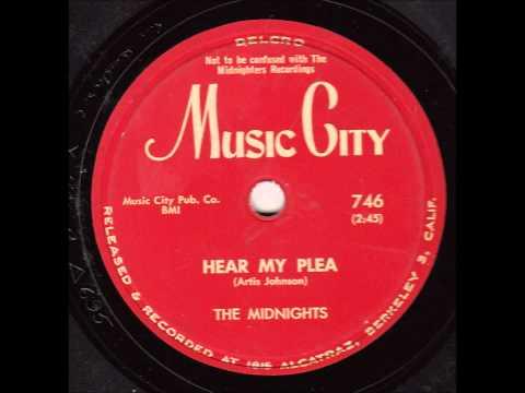 MIDNIGHTS - ANNIE PULLED A HUM-BUG / HEAR MY PLEA - MUSIC CITY 746 - 1954