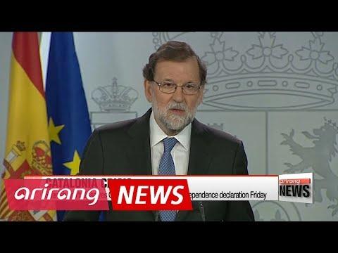 Spain dismisses Catalonia gov't after independence declaration
