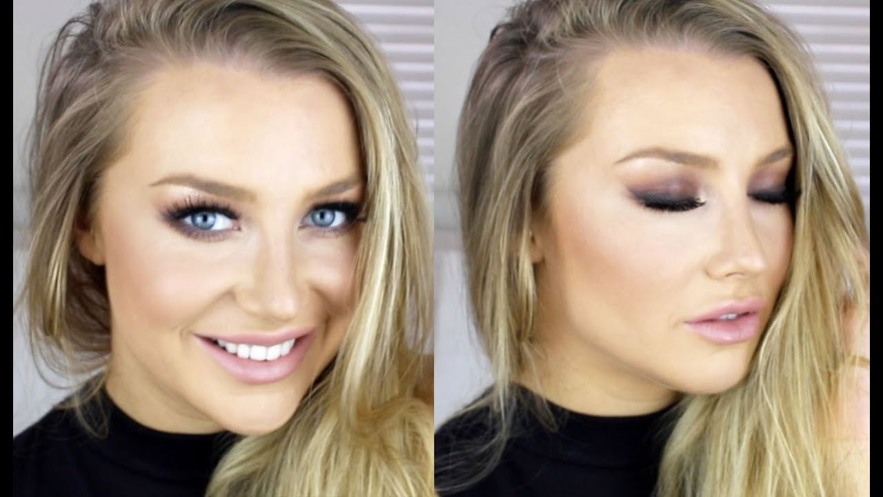 Makeup tutorials for blue eyes and blonde hair