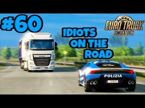 Euro Truck Simulator 2 Multiplayer: IDIOTS on the Road | Random & Funny Moments | #60