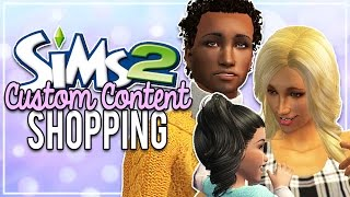 The Sims 2   CC Shopping [#3] - Toddler's & Children's Clothes, Male Outfits & More!!