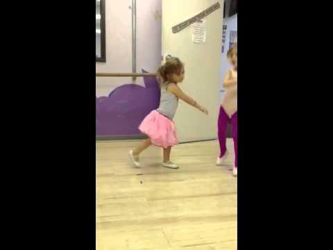 Finleys Halloween dance class