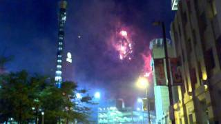 Cleveland Indians Fireworks Show July 4th 2011