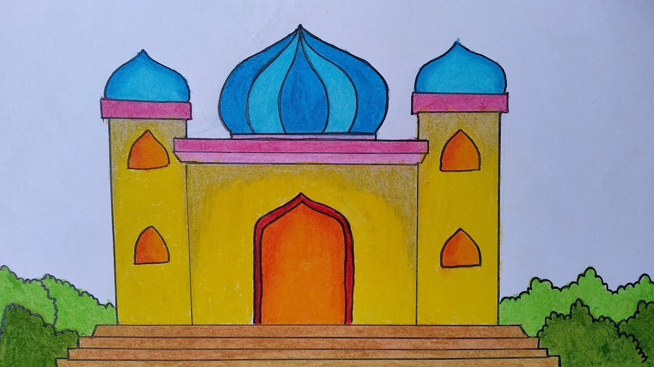 Cara Mewarnai Masjid Yang Bagus Nusagates