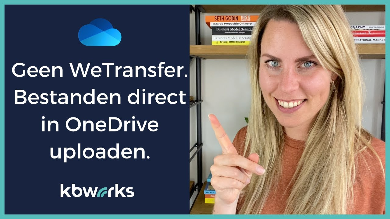 WeTransfer alternatief  Bestanden direct laten uploaden naar je persoonlijke OneDrive