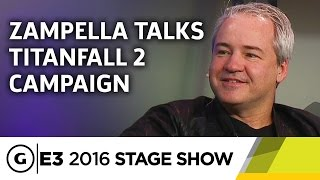 Titanfall 2 Campaign Discussion - E3 2016 Stage Show