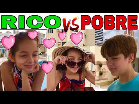 RICO VS POBRE FAZENDO AMOEBA  SLIME 8