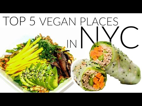 Top 5 Vegan Food Places in NYC