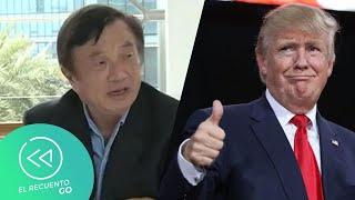 Fundador de Huawei elogia a Donald Trump | El Recuento Go