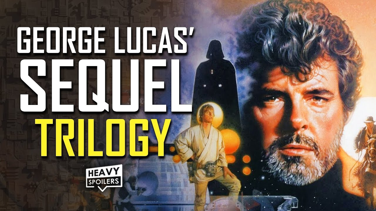 Star Wars George Lucas Original Sequel Trilogy Plans Explained Breakdown Of Episode 7 8 9 Youtube