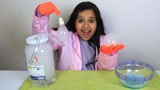 تجارب علمية سهلة لأطفال مع شفا!  Shfa learns Easy DIY Science Experiment for Kids