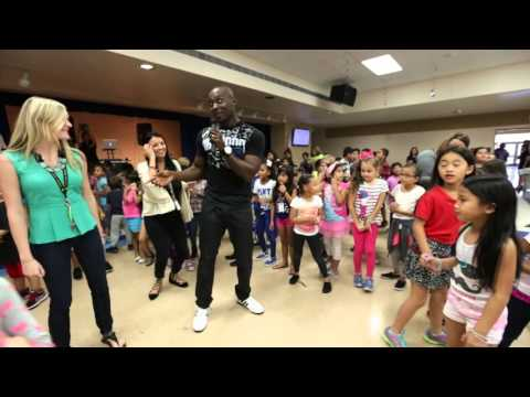 Jump up Kids at John Young Elementary School