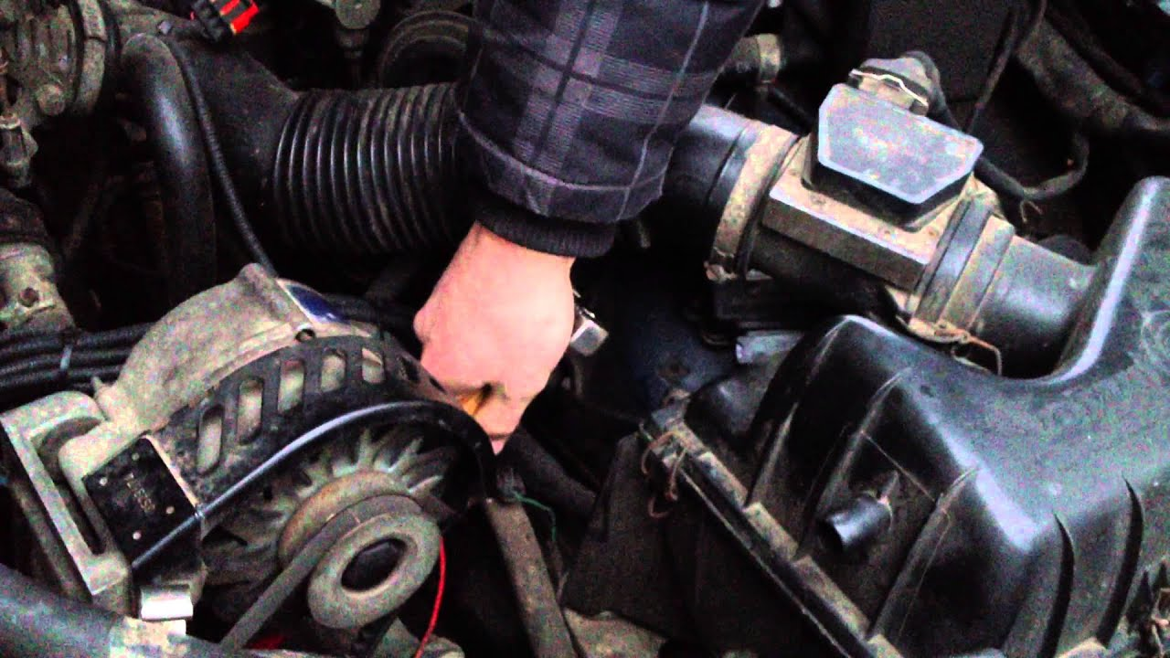 How To Tighten Alternator Belt Volvo 940 Youtube 1991 Engine Diagram