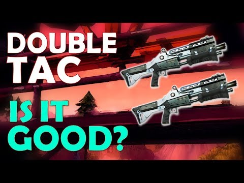DOUBLE TAC NEW META!? | INSANE FIRING SPEED | BUILDING BATTLES - (Fortnite Battle Royale)