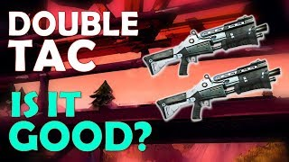 DOUBLE TAC NEW META!? | INSANE FIRING SPEED | BUILDING BATTLES - (Fortnite Battle Royale)