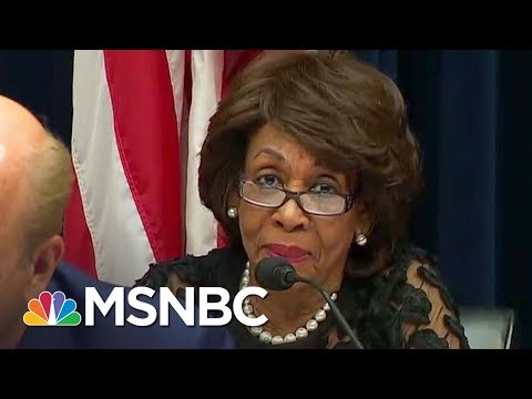 Rep. Maxine Waters Reclaims Thing 1/Thing 2 | All In | MSNBC