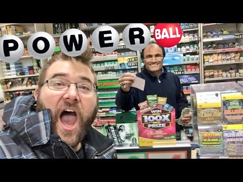 BUYING THE WINNING TICKET? 1.5 Billion Dollar POWERBALL LOTT