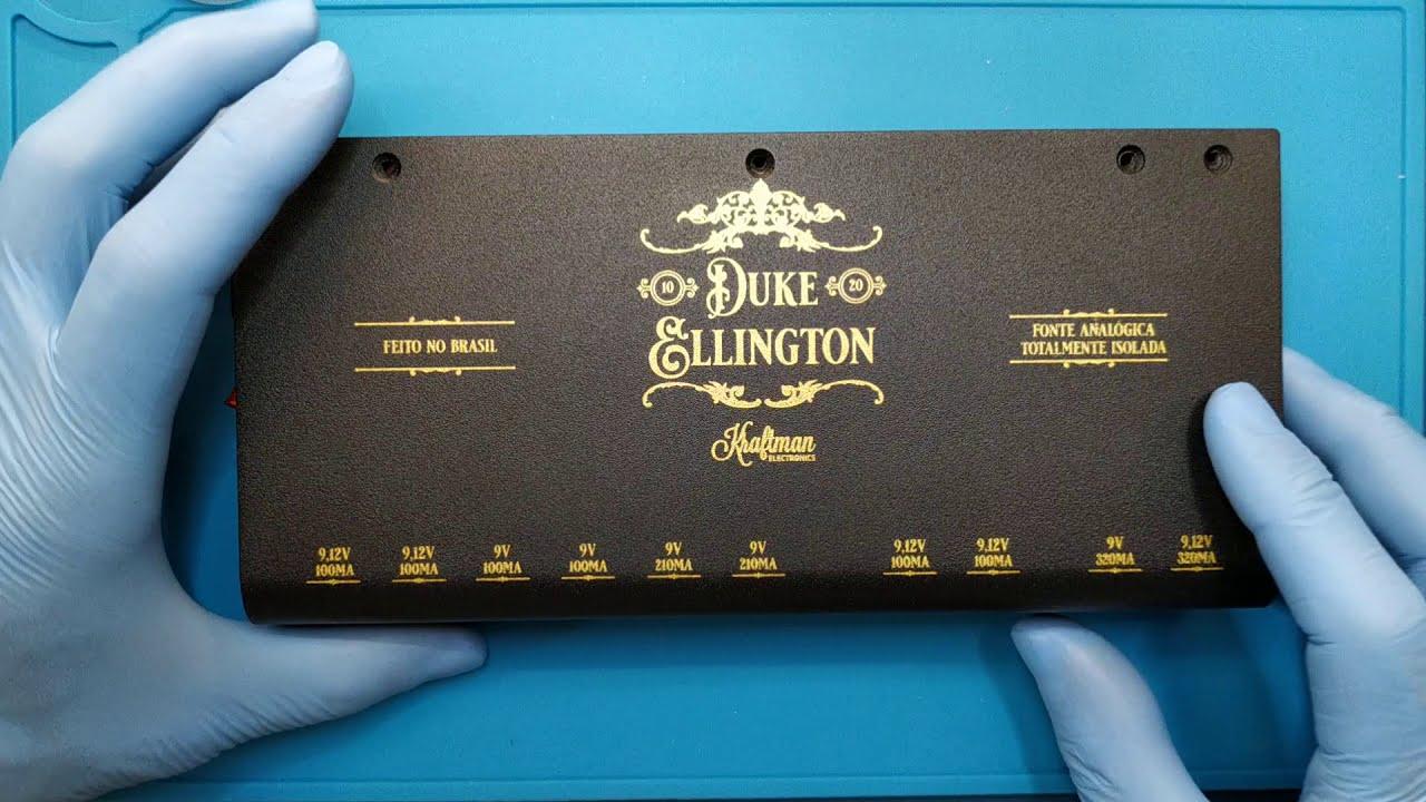 a fonte Duke Ellington por dentro
