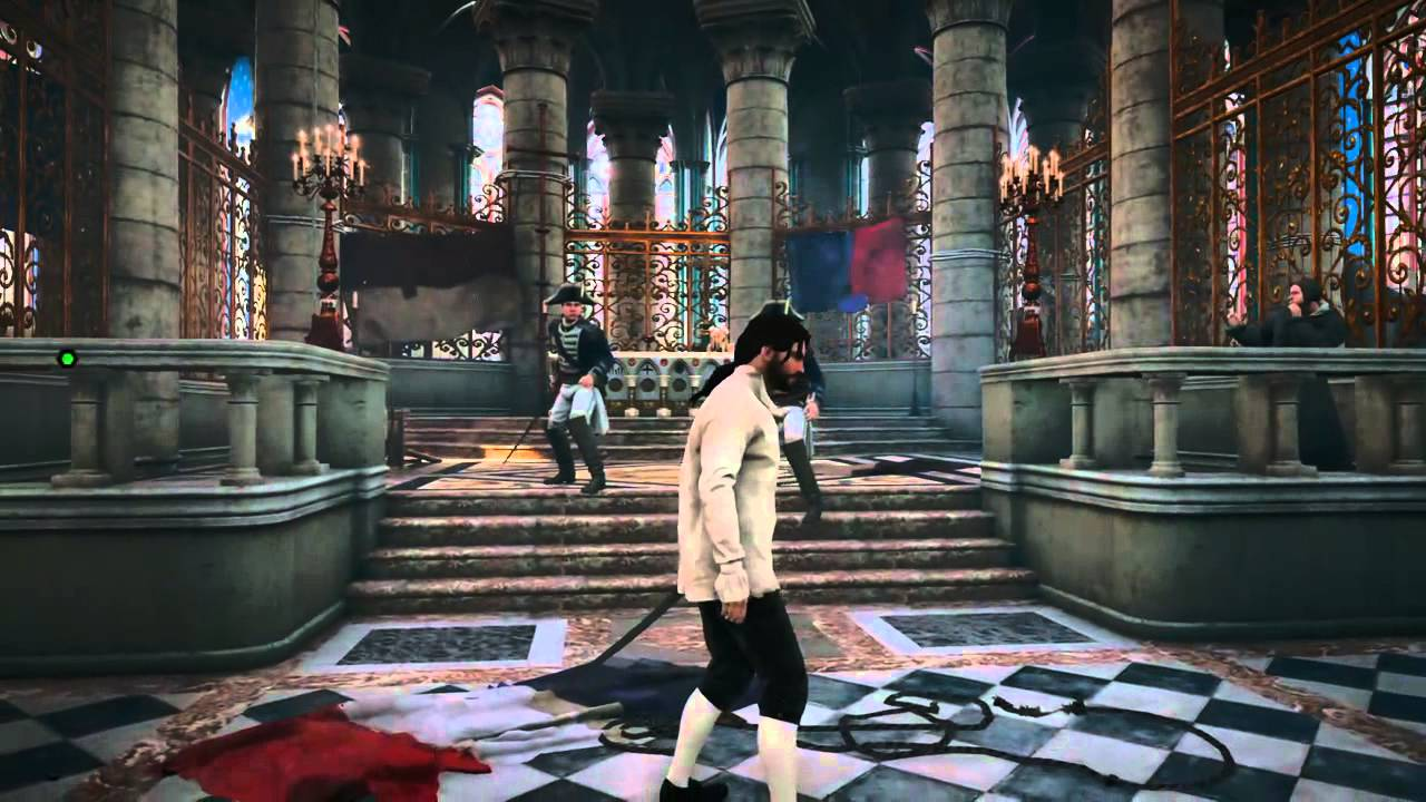 Assassin S Creed Unity Notre Dame Cathedral Interior Youtube