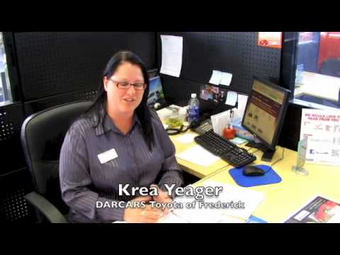 Krea Yeager Toyota Certified Sales Consultant Darcars