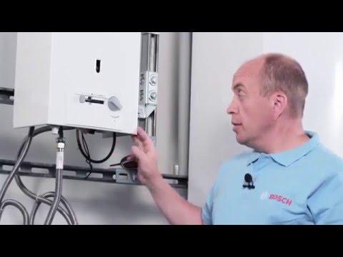 Газовая колонка Bosch Therm 4000 О (обзор и настройка)