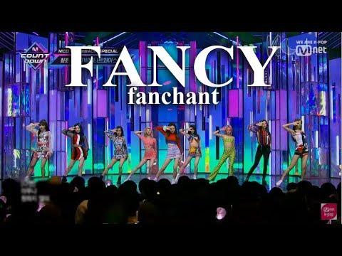(ROM/ENG) TWICE - 'FANCY' Lyrics + FANCHANT