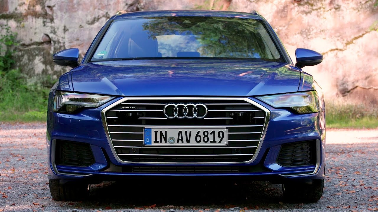 2019 audi a6 avant sepang blue exterior interior. Black Bedroom Furniture Sets. Home Design Ideas