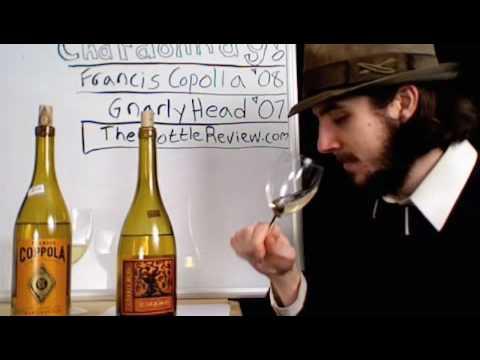 Wine Review #7 - Part 2: Chardonnay!  Francis Coppola 08, Gnarly Head 07.