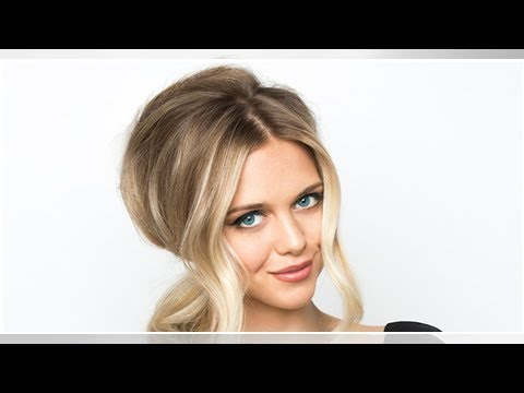 Dünne Haare Diese Kreppeisen Frisur Sorgt Für Volumen Youtube