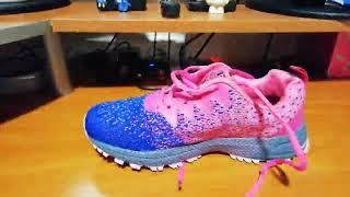SOLLOMENSI Zapatillas de Deporte Hombres Mujer Running Zapatos, Como un guante