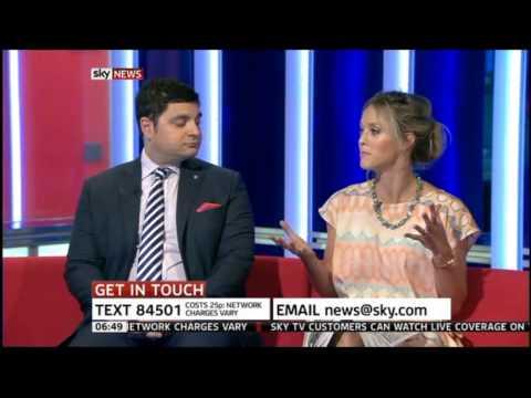 Sky - Newspaper Review - Royal Birth Newspaper Review - Rafe Heydel-Mankoo, Sunrise