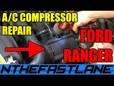 "A/C System Repair Ford Ranger & Mazda B-series  ""How To"""