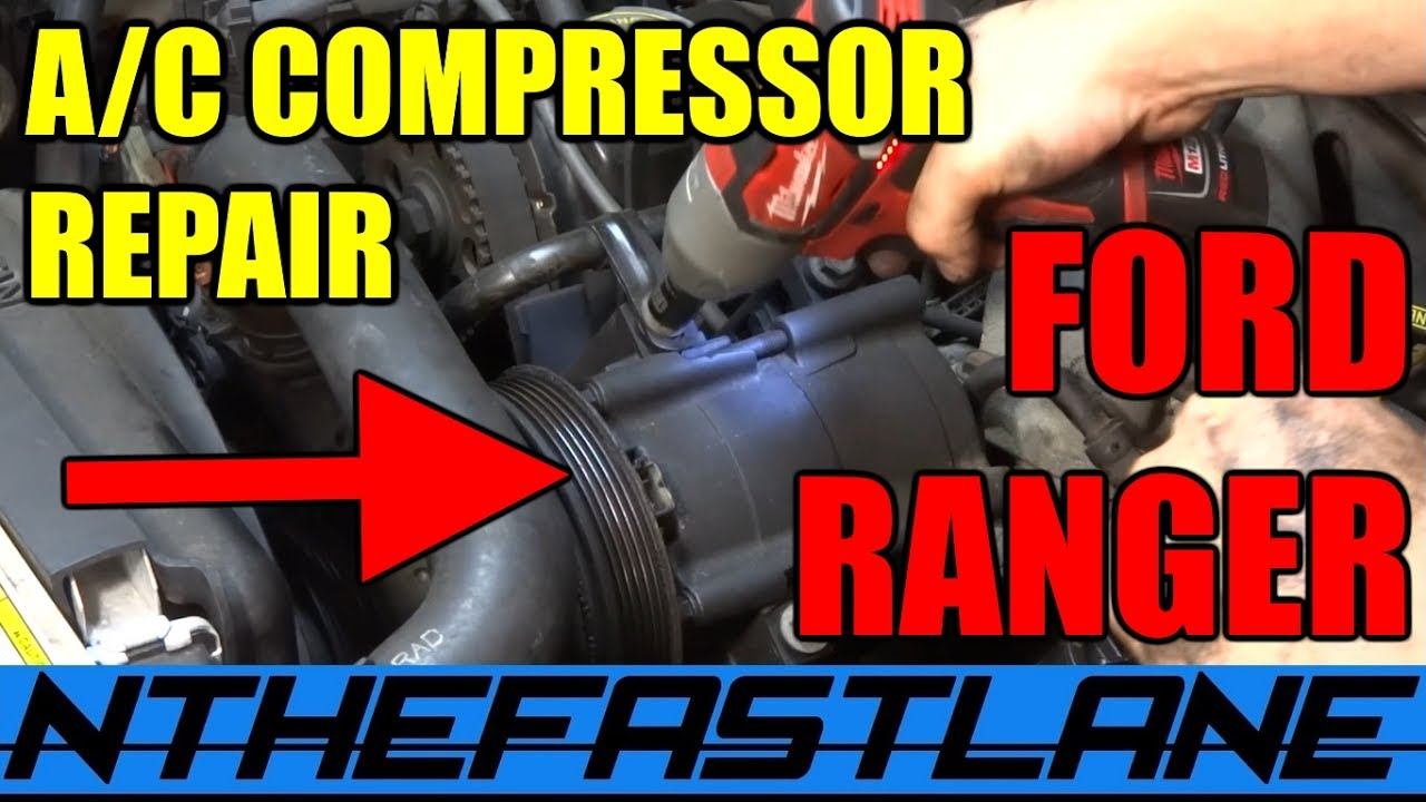 a c system repair ford ranger mazda b series how to