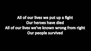 Daron Malakian and Scars On Broadway - Lives (Lyric video)