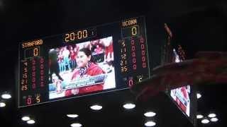 Christiana Schiller - National Anthem @ Stanford - UConn Men