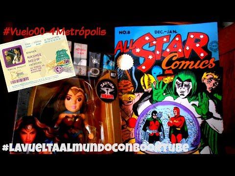 Hablemos de All Star Comics 8|Nadie sabe quien es ni de dónde viene |1era aparición Wonder Woman