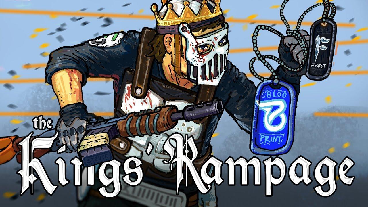 THE KINGS' RAMPAGE - Rust (ft. Blooprint & Frost)