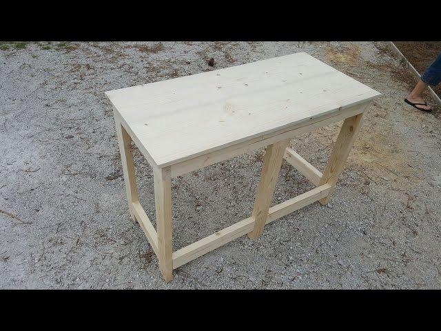 Building a wooden desk for under $50