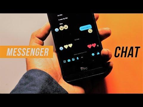 New Facebook Messenger 4 : Chat Experience & Dark Mode
