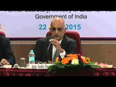 Pune International Centre: Lecture by Amb. Sudhir Devare 'Art & Science of Policy Making' (Part 2)