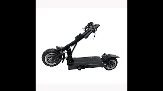 Tubless 2000W 26AH high power foldable electric scooter skateboard with optional seat