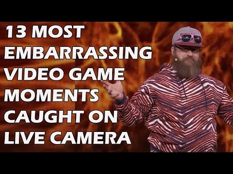 13 Most Embarrassing Video Game Moments Caught On Live Camera